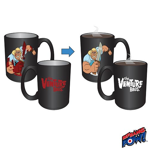 Venture Bros. Color-Changing Brock Mug