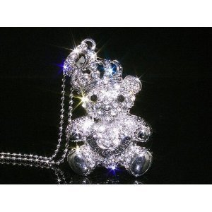 32 GB Bear Shape Crystal Jewelry USB necklace
