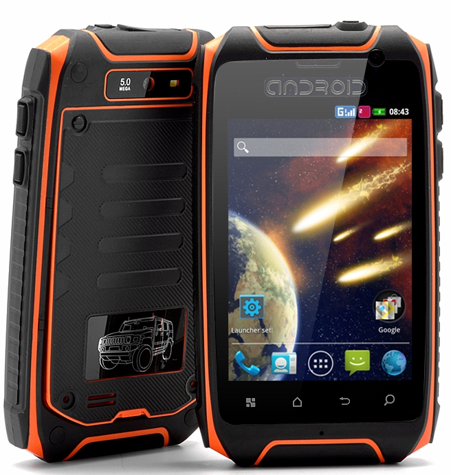 "Rugged Android Phone ""Asteroid"""