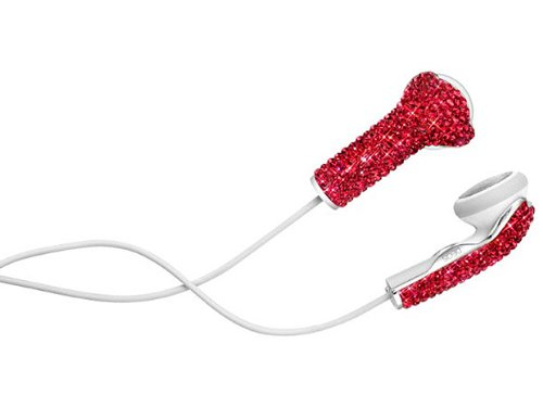 Swarovski Elements iPhone Earbuds
