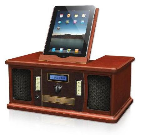 Vintage iPad iPod Dock Vintage iPad iPod Dock