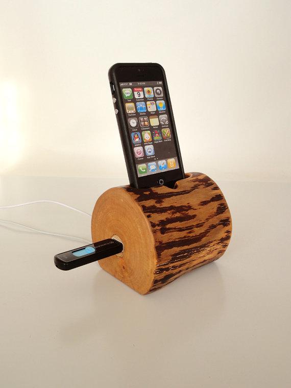 iPhone dock and iPod dock plus additional USB port