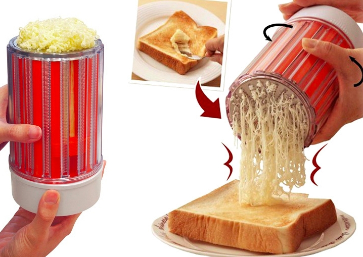 Butter-Shredding Grater