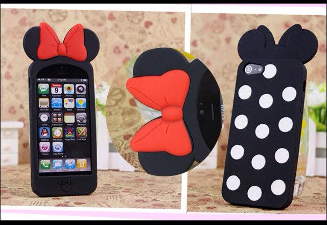 3D Mouse Bow iPhone 5 Disney Case