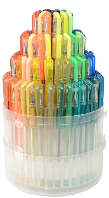 Gelwriter Gel Pen Set with Pop-up Case