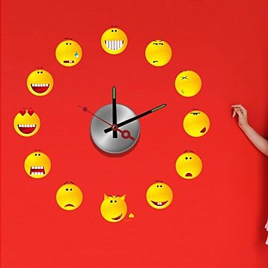 DIY Wall Sticker Clock
