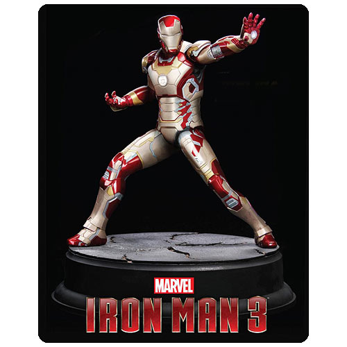 Iron Man 3 Movie Mark 42 1:9 Scale Action Hero