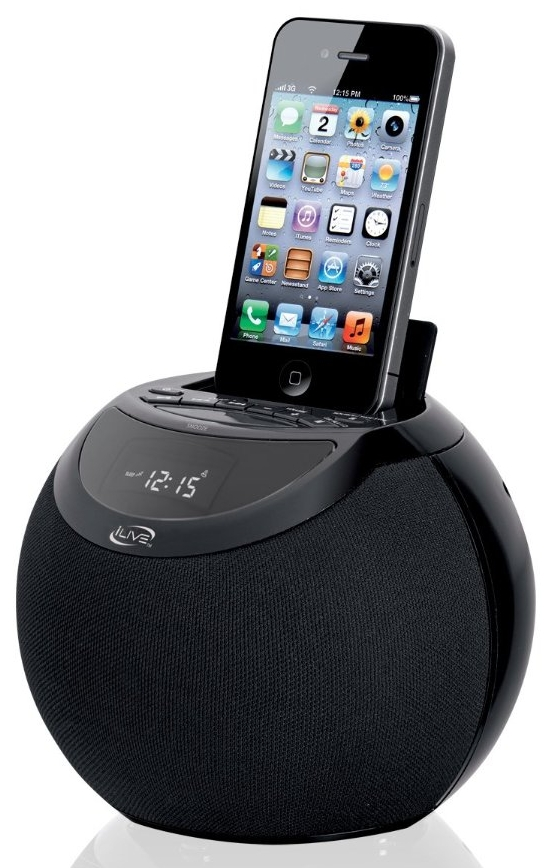 Clock Radio with Dock for iPhone/iPod