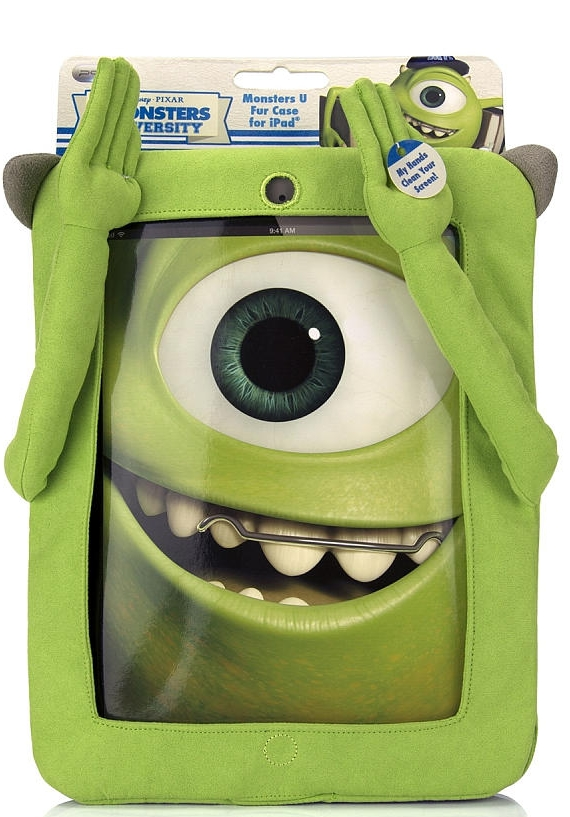 Disney Monsters U Mike Furry Case for iPad