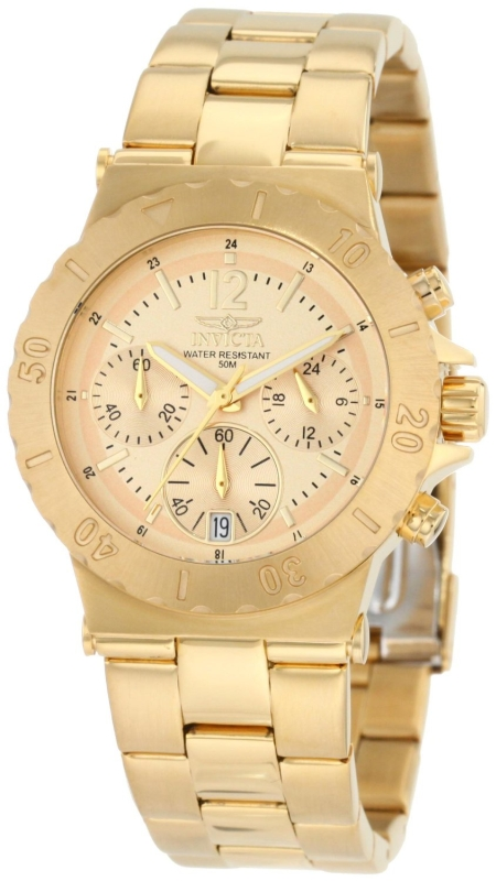 Invicta Women's 18K Gold Watch