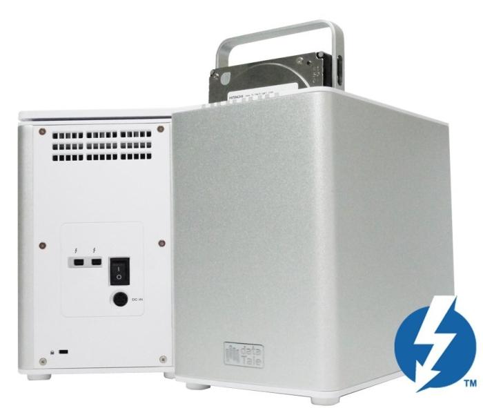 12TB DataTale RS-M4T SMART 4-Bay Thunderbolt RAID Storage System