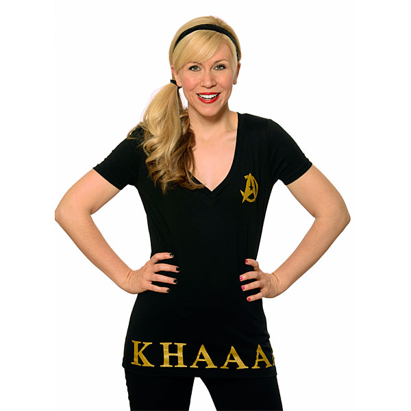 Khaaan V-Neck Ladies' Tee