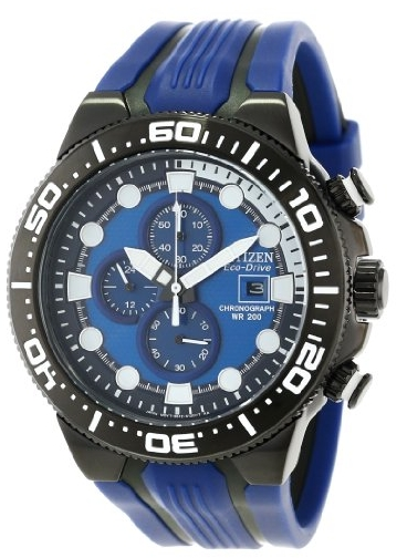 Citizen Men's Eco-Drive Scuba Fin Chronograph Dive Watch