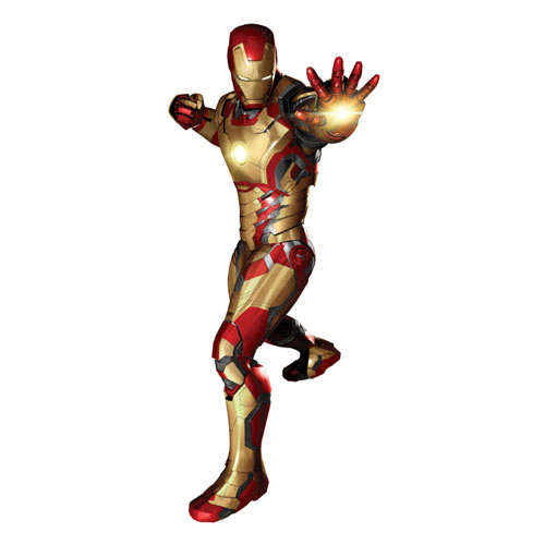 Iron Man 3 Movie Peel and Stick Giant Wall Decal