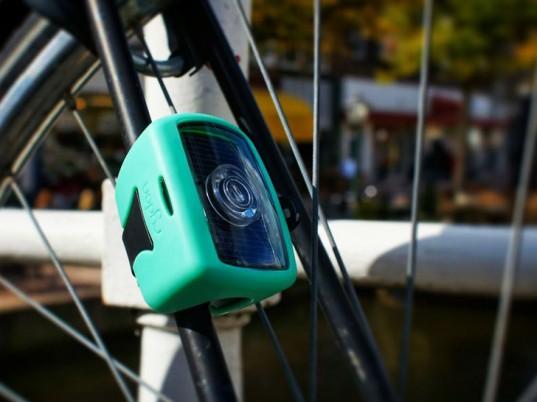 Solar Rydon Pixio Bike Light Stores Sunlight