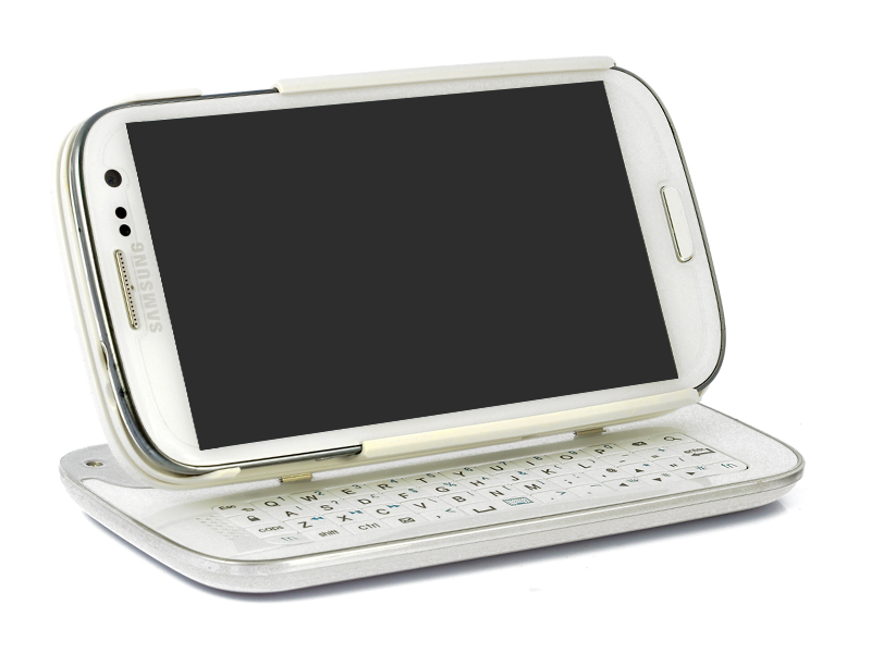 Wireless Slide-Out Bluetooth Keyboard With Detachable Case