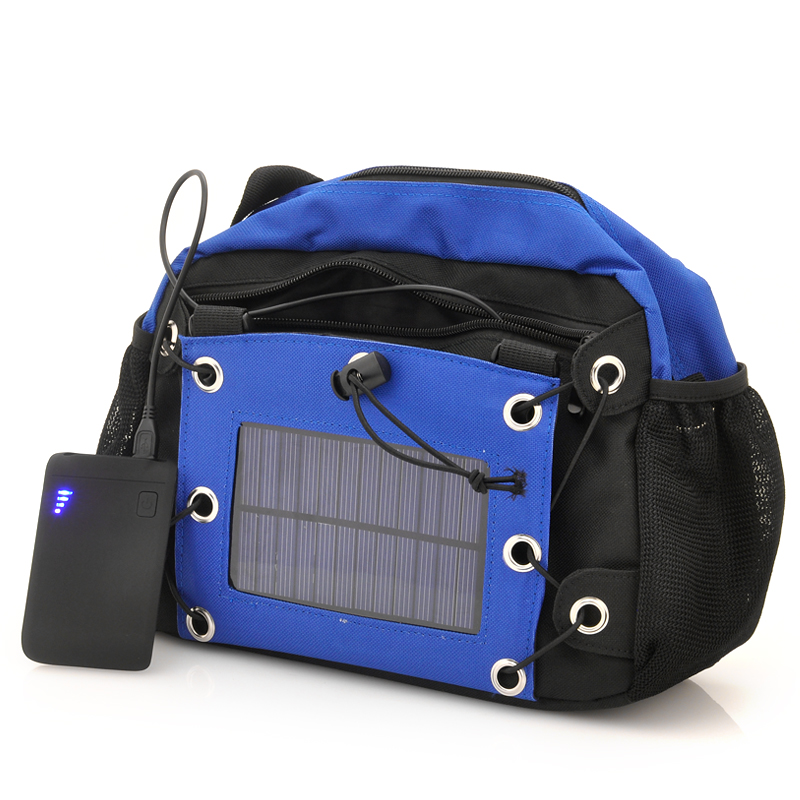 Camera Bag with Solar Panel