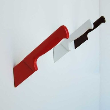 Wall Hook Knife in Red