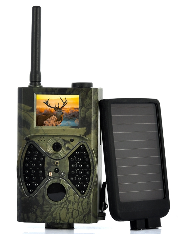 "Game Hunting Camera With Solar Panel ""Solar-Shot"""