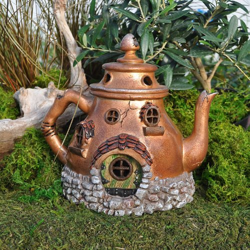 Miniature Fairy Garden Tea Pot House