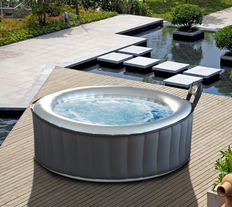M Spa Silver Cloud Hot Tub