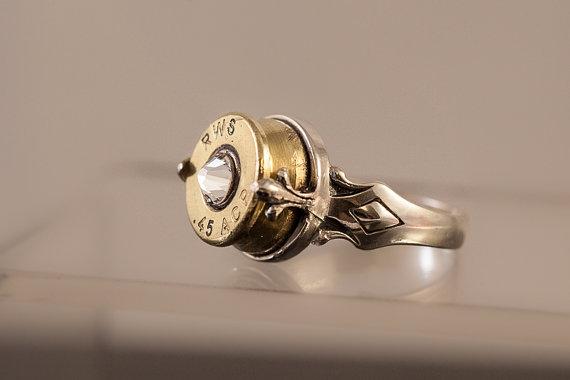Silver Bullet Ring