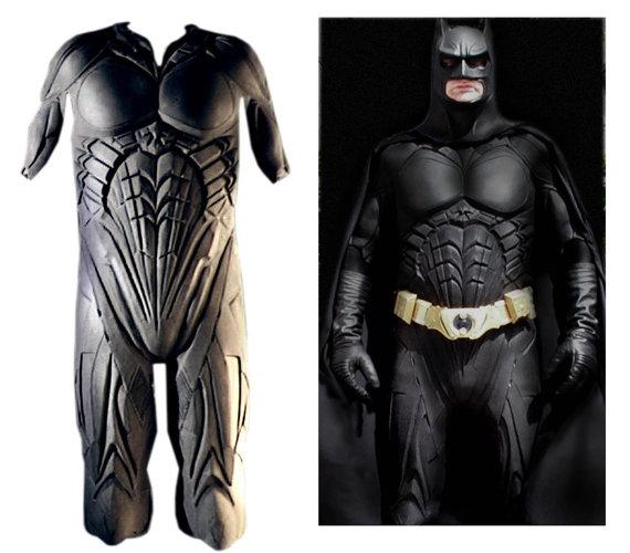 Armor Latex Batman Costume Knight Suit