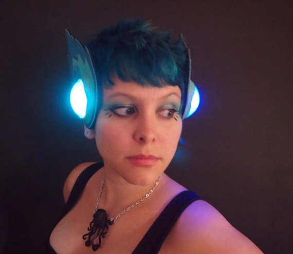 Light Up LED Comets Headpiece