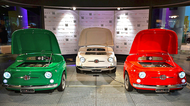 Fiat 500 Keep Your Drinks Cool