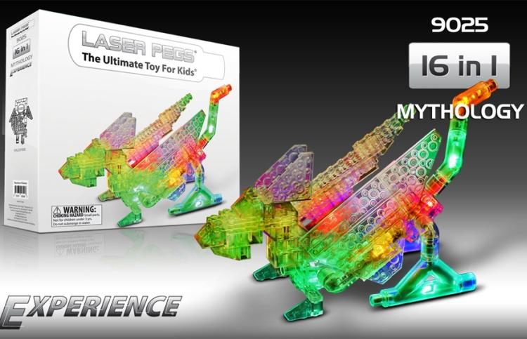 Laser Pegs Experience Mythology