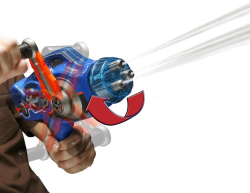 Rapid Fire Spin Blaster Water Gun