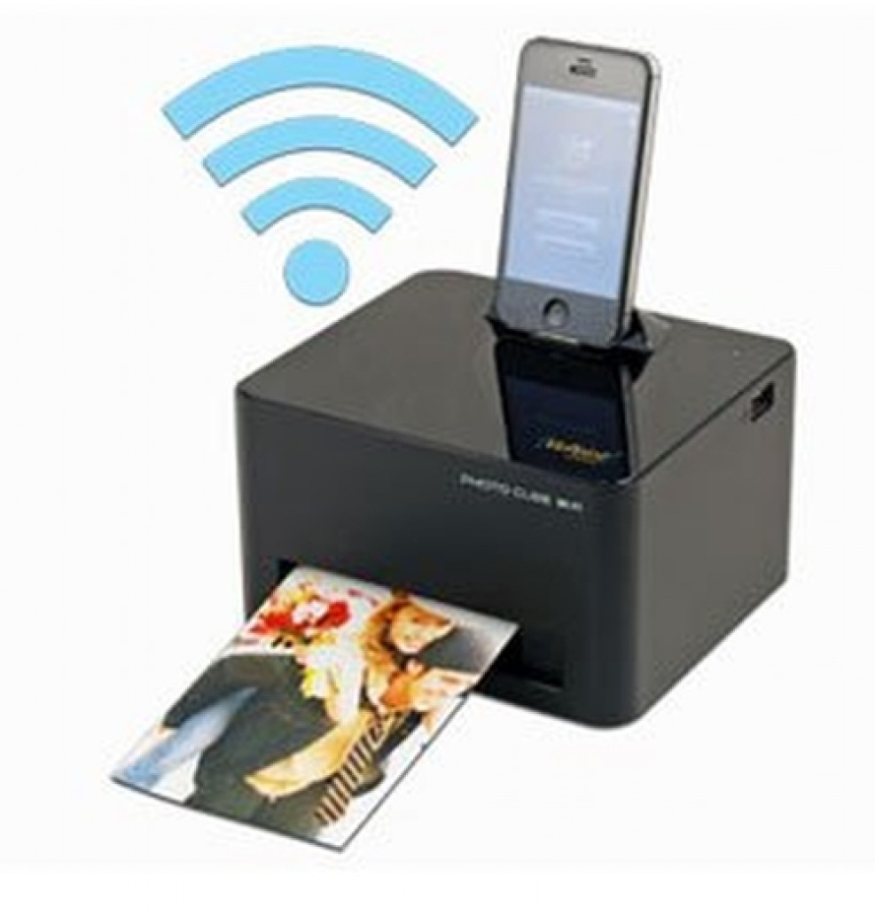 VuPoint Solutions WiFi Photo Cube Portable Print