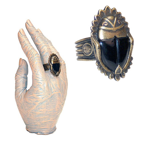 Universal Monsters The Mummy Imhoteps Scarab Ring Prop Replica