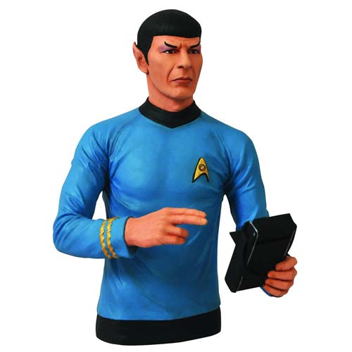 Star Trek Original Series Spock Bust Bank