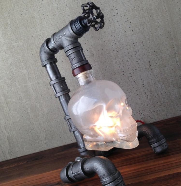Crystal Head Vodka Lamp
