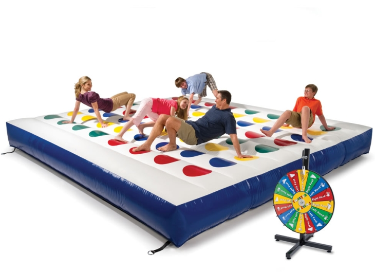 The Inflatable Outdoor Color Dot Game