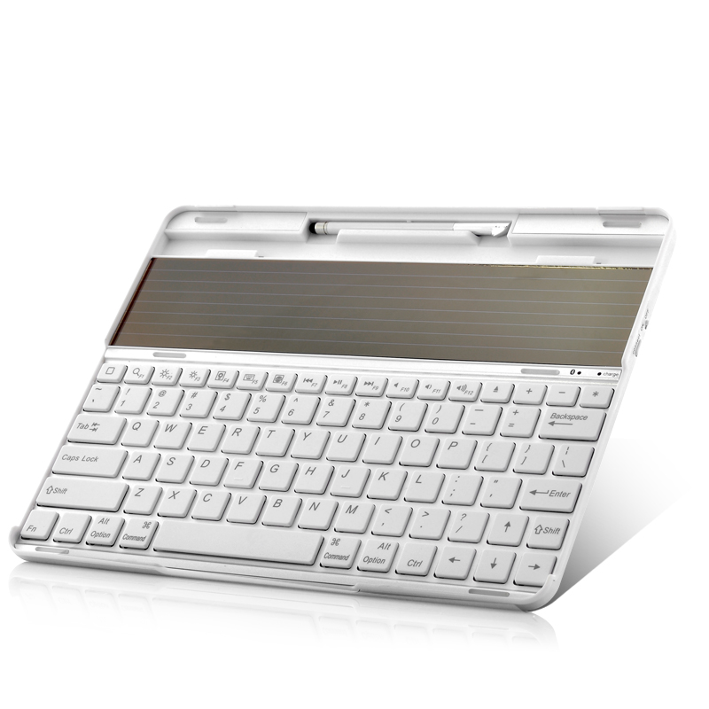 Solar Panel Bluetooth Keyboard