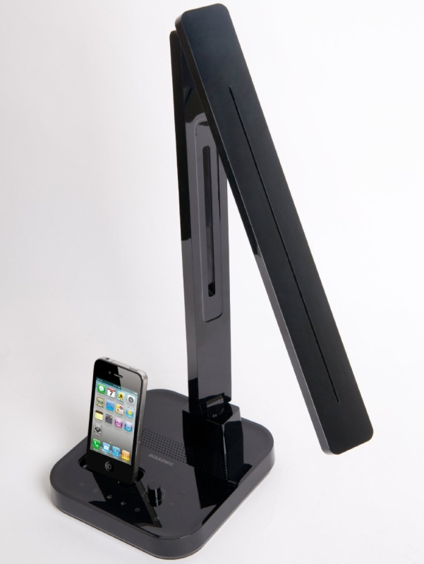 LED Multi-Function/iPod & iPhone Desk Lamp