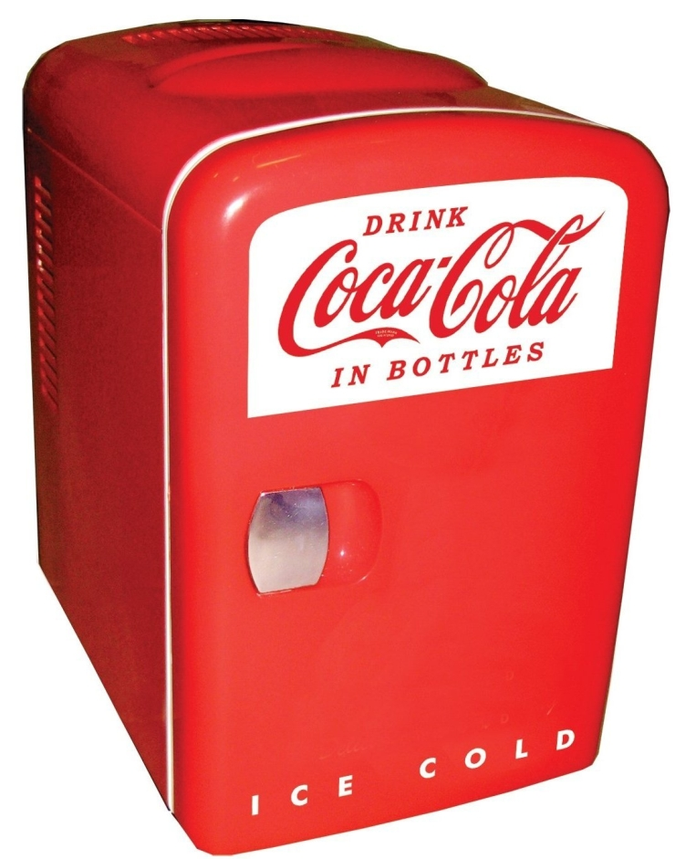 Coca-Cola Personal 6-Can Mini Fridge