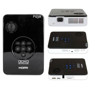 Jr Pocket Size Pico Projector & Media Player