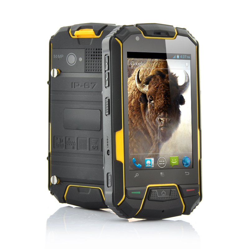 3.5 Inch Ruggedized Android Dual Core Phone Bison