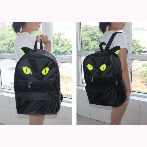 Backpack Night Owl Backpack School Shoulder Bags