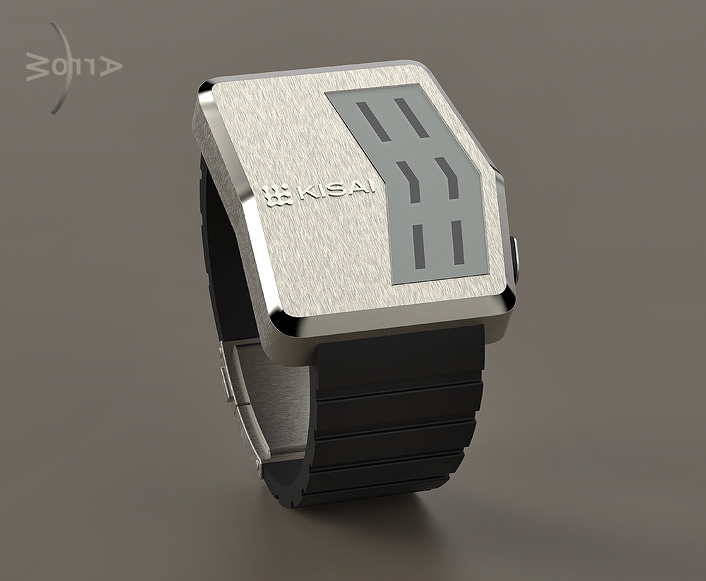 Arrow LCD watch