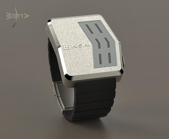 Arrow LCD watch