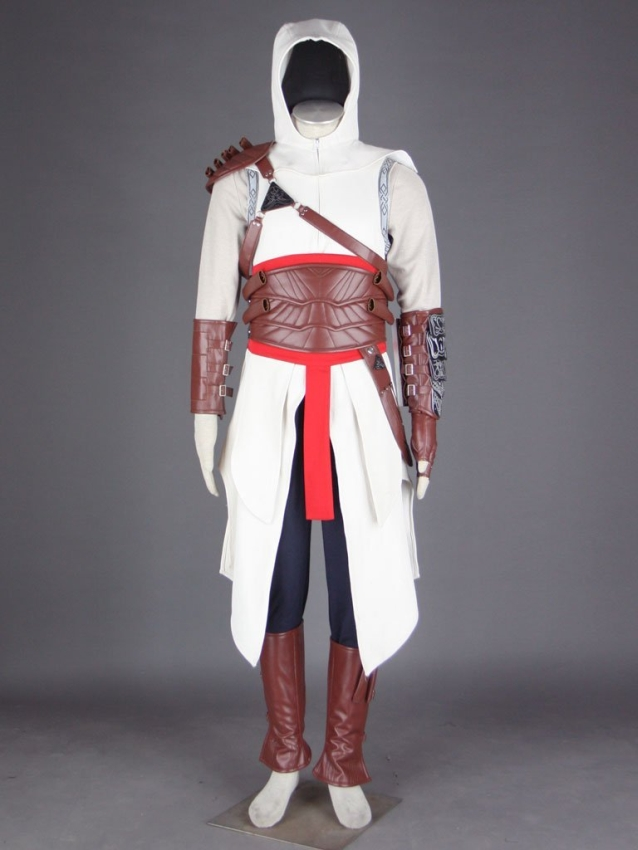 Assassin's Creed Altair Hood Cosplay Costume