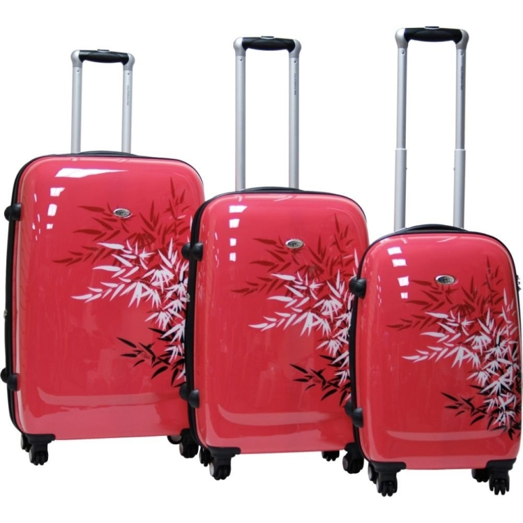 CalPak Bangkok 3 Piece Exp. Hardside Luggage Set