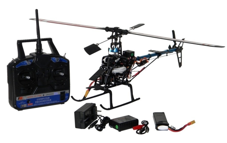 HAUSLER 450P RTF 3D 2.4G 6CH RC HELICOPTER