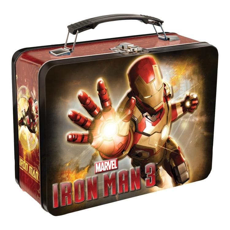 Iron Man Tin Tote