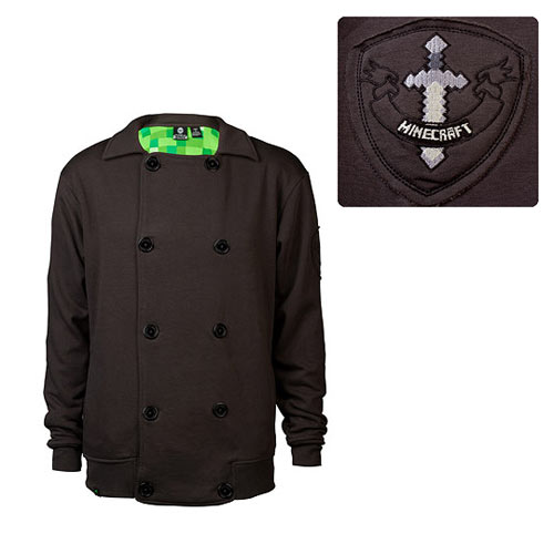 Minecraft Premium Vintage Coal Fleece Jacket