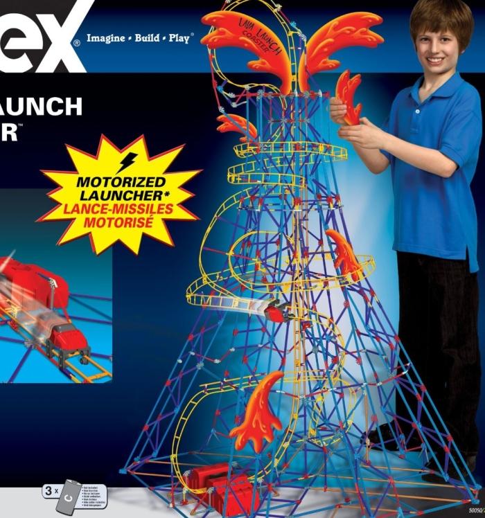 K'Nex Lava Launch Coaster